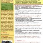 ESSP II Newsletter November-December 2012