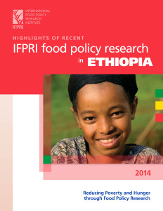 Highlights of recent IFPRI food policy research in Ethiopia: Red