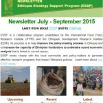 ESSP Newsletter July – September 2015