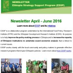 ESSP Newsletter April – June 2016