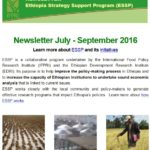 ESSP Newsletter July – September 2016